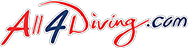All 4 Diving logo